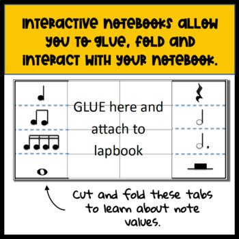 Music Lapbook/Interactive Notebook Kit
