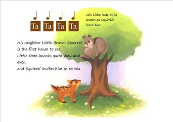 Music Learning Picture Book for preschoolers through 1st grade