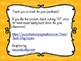 Music Learning Target Signs - Yellow Orange Music