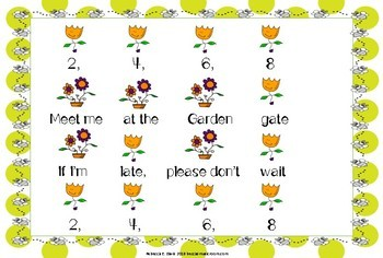 Music Lesson: 2, 4, 6, 8 Meet Me at the Garden Gate