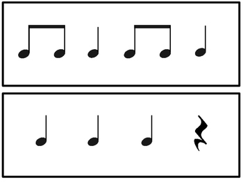Music Lesson: Bubble Gum Song, Rhythm, Solfege and Game
