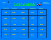Music Lesson Plan!  Fun Jeopardy Game
