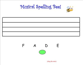 Music Lesson Plan! Fun Musical Spelling Bee