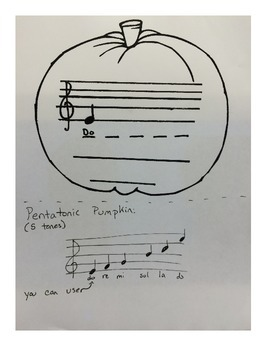 Music Lesson: Pentatonic Pumpkin