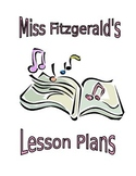 Music Lesson Plan Binder Cover