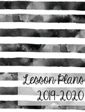 Lesson Plan Notebook Cover and Dividers