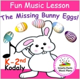Music Lesson Plan {The Missing Bunny Eggs-Elementary}