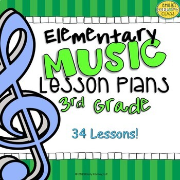 Third Grade Music Lessons (Elementary Music Lesson Plans f