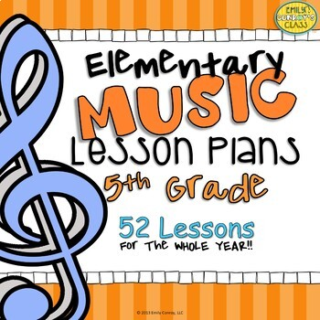 Fifth Grade Music Lesson Plans (Music Lessons for Fifth Grade)