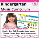 Music Lesson Plans - Kindergarten {34 Lessons}
