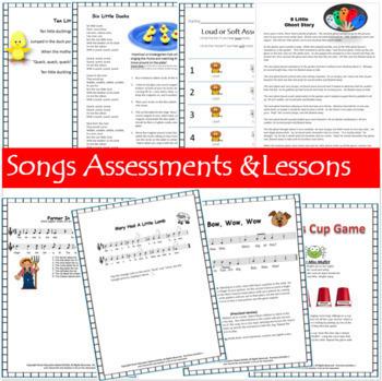 Elementary Music Lesson Plans {35 Kindergarten Bundled lessons}