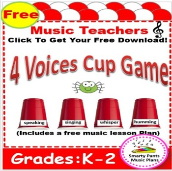Music Lesson Plans - Kindergarten { Four Voices Lesson}