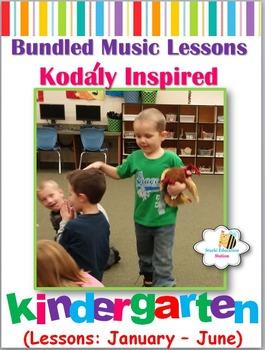 Music Lesson Plans - Kindergarten {Lessons January - June}
