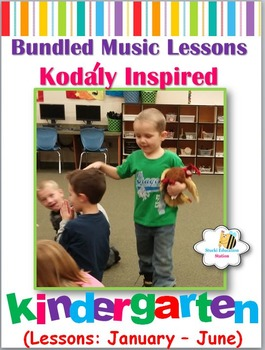Music Lesson Plans - Kindergarten {Lessons January - June}