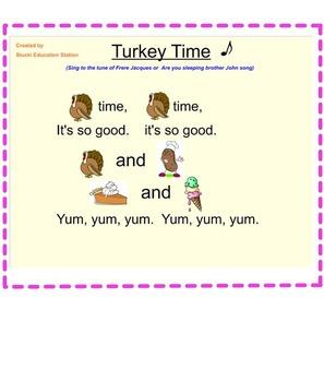 Music Lesson Plans - Kindergarten {Lessons September-December.1}