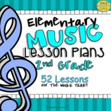 2nd Grade Music Lesson Plans (Set #1)