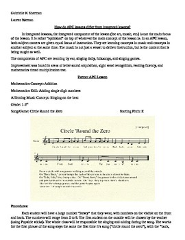 Music Lesson for Single Digit Addition Practice