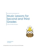 Music Lessons: Second and Third Grades