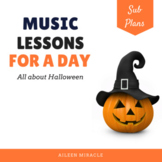 Halloween Music Lessons