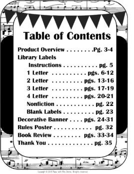 Music Library Starter Kit