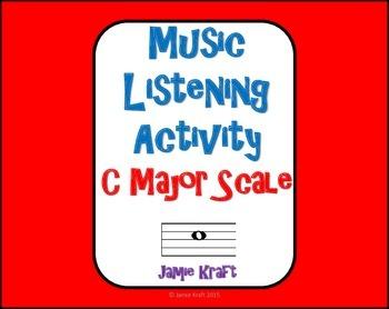 Music Listening Activity: C Major Scale