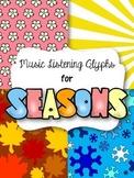 Music Listening Glyphs for Seasons