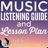 Music Listening Guide, Music Vocabulary Definitions, & Les
