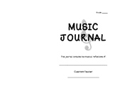 Music Listening Journal