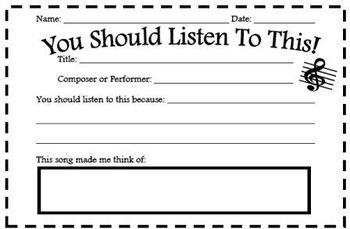 Music Listening Recommendation