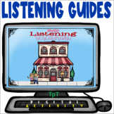 Music Listening Restaurant - Distance Learning - Easel Activity