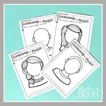 Music Listening Worksheets, K-6