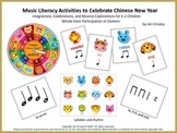 Music Literacy Activities to Celebrate Chinese New Year (t