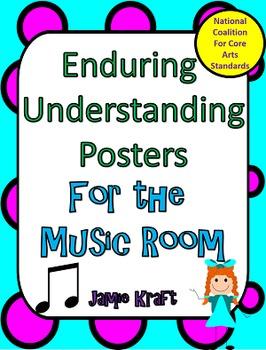 Music Literacy: Enduring Understanding Posters