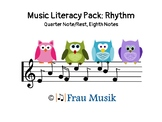 Music Literacy Rhythm Pack: Kodaly Songs & Games to Read and Sing