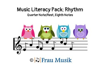 Music Literacy: Rhythm Pack, Kodaly Songs & Games for Reading Music