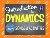 Beginner Dynamics: Loud & Soft Sounds - Songs & Activities