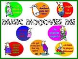 Music MOOOves Me Bulletin Board Kit