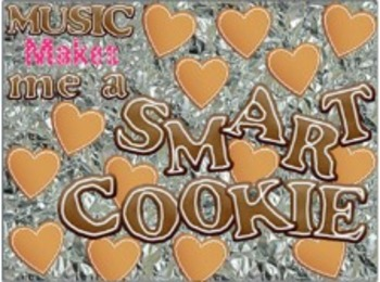 Music Makes Me A Smart Cookie Bulletin Board Kit