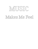 Music Makes Me Feel... (Emotions Lesson with Coloring)
