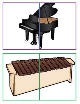 Music Making Study 2-Piece Matching Puzzles