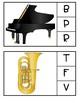 Music Making Study Beginning Sound Clip Cards