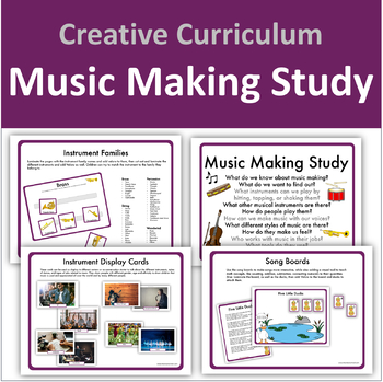 Music Making Study - Creative Curriculum