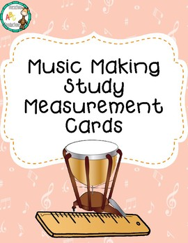 Music Making Study Measurement Cards