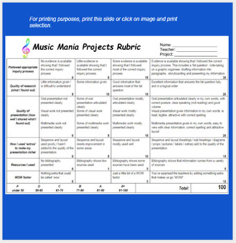 Music Mania Interactive PPT