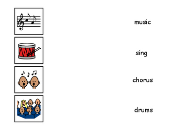 Music Matching Activity