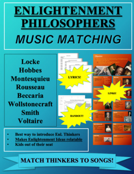 Music Matching: Enlightenment Philosophers and Ideas Doc