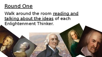 Music Matching: Enlightenment Philosophers and Ideas PPT