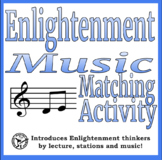 Music Matching: Enlightenment Thinkers