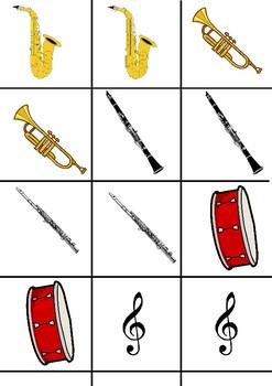 Music Matching Game