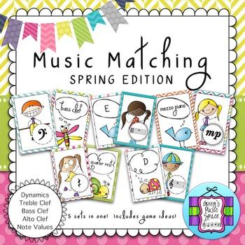 Music Matching Spring Edition #musiccrewspring